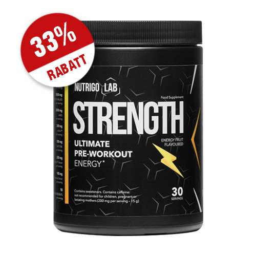 Nutrigo Lab Strength Trainingsbooster