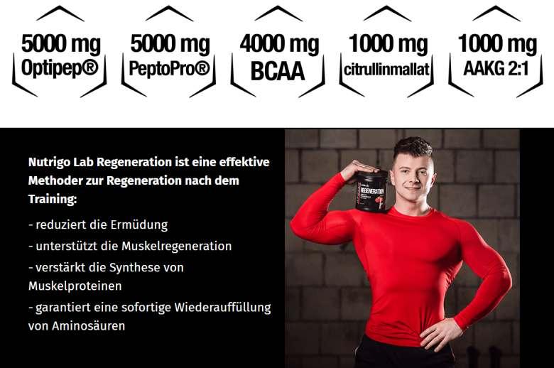 Vorteile von Nutrigo Lab Regeneration