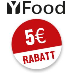 5 Euro YFood Gutscheincode