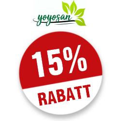 15% yoyosan Gutscheincode