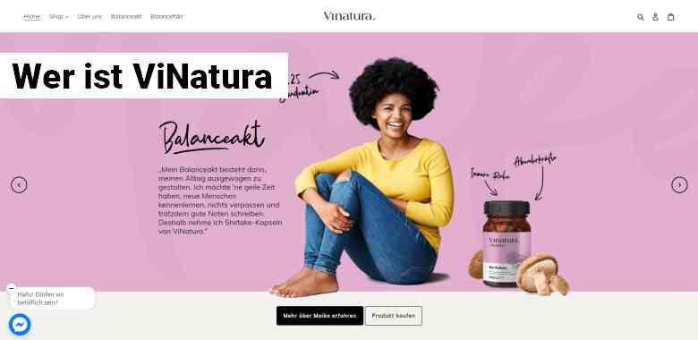 Vitalpilze von ViNatura